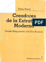 Paret Peter - Creadores de La Estrategia Moderna