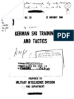 German Ski Training and Tactics