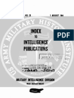 Index to Intelligence Publications