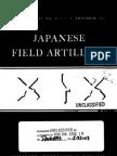 Japanese Field Artillery