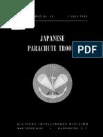 Japanese Parachute Troops