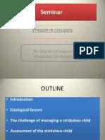 Stridor in Children