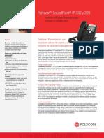 Soundpoint Ip 320 330 Datasheet Es (1)