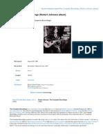 Complete Robert Johnson Recordings