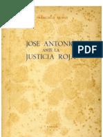 Jose Antonio ante la Justicia Roja