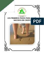 LOS PRIMEROS PASOS DE RECIÉN NACIDOS EN CRISTO