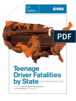 Teenage Driver Fatalities by State