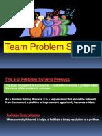 8 d Problem Solving
