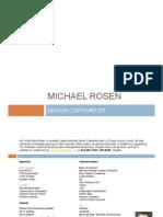 Mike Rosen Copywriter