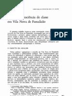 INGERSON, Alice - Classes e consciência de classe em Vila Nova de Famalicão