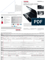 Satellite A300 Datasheet 2008