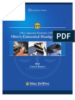 Ohio's Concealed Handgun Law 2012 Annual Report