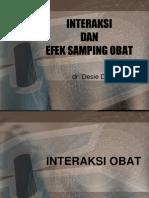 INTERAKSI DAN EFEK SAMPING OBAT New.ppt