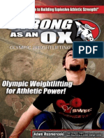 Strong as an Ox Olympic Weightlifting Program Manual PDF