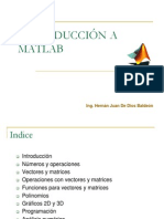 Curso de Matlab