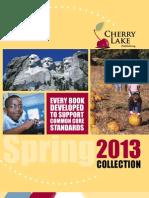 Cherry Lake Publishing Spring 2013 Catalog Supplement