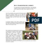 Costumbre s y Tradiciones de Camerun