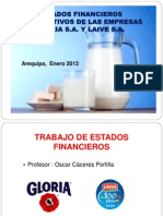 Power Point Gloria y Laive