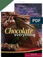 Chocolate Everything Jane Pare.