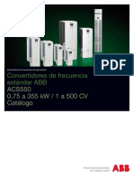 Convertidor de Frecuencia ABB Acs550