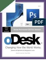 oDesk Photoshop CS3 Test Answer 2012 Www.rafiqbamna.blogspot.com