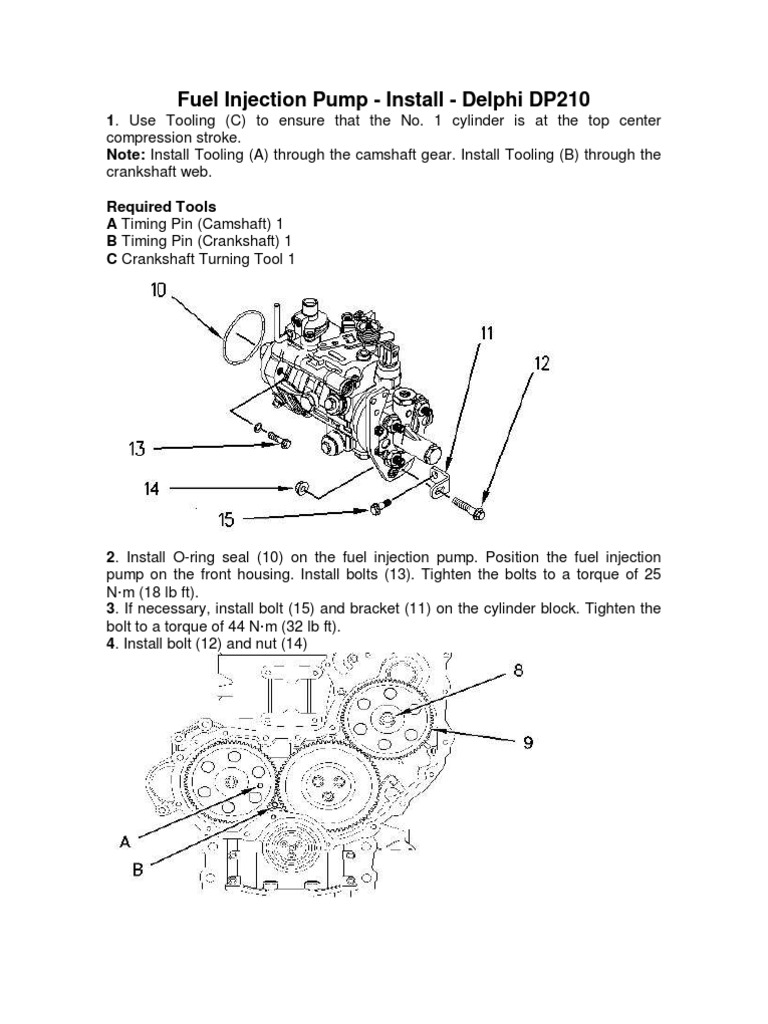 bosch p7100 injection pump manual download