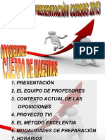 Presentacion Cursos 26Febrero2013_TVIEXCELENTIA