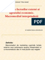 0 Evaluarea Factorilor Externi Ai Agentului Economic