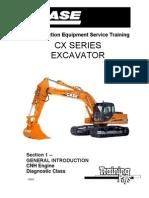 Case CX 210 Exc Trainnig Service