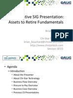 CS Assets to Retire Fundamentals