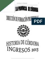 2012-11-01 HISTORIA DE CÓRDOBA