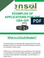 CBA Example Application 2012