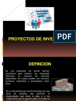 Proyectos de Inversion Introduccion