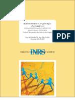 Bellavance, G., Gauthier, L., Gauthier, G. (2004) « Étude de clientèles de cinq périodiques culturels québécois »
