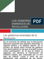 Mód_14_Los gobiernos emanados de la Revolución