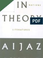 Ahmad, Aijaz - In theory. Classes, nations, literatures.pdf