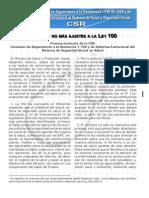 Pronunciamiento de la CSR - Feb 26 2013