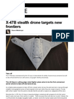 BBC - Future X-47B Stealth Drone Targets New Frontiers