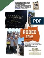Sarabande Rodeo Camp 2009