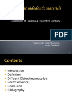 Pediatric Endo Don Tic Materials