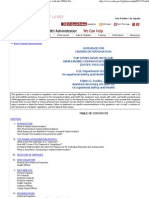 Guidance for Hazard Determination for Compliance With the OSHA Hazard Communication Standard