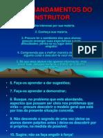 Os 10 Mandamentos Do Instrutor 02