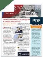 Dec 08 Manila Yacht Club Barnacle