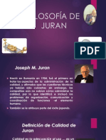FILOSOFÍA DE JURAN