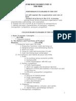 AP Econ Unit 3 Plans
