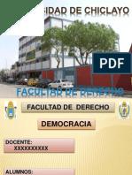 Democracia Ciencia Politica