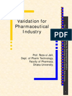 Validation for