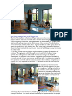 The Five Tibetan Rites or Postures of Rejuvenation