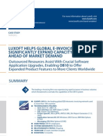 Case Study Luxoft Helps Global e Invoicing Provider Travel Luxoft for Ob10