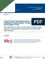 Case Study Luxoft Helps International Telecom Company Telecommunications Luxoft for Astelit Ltd